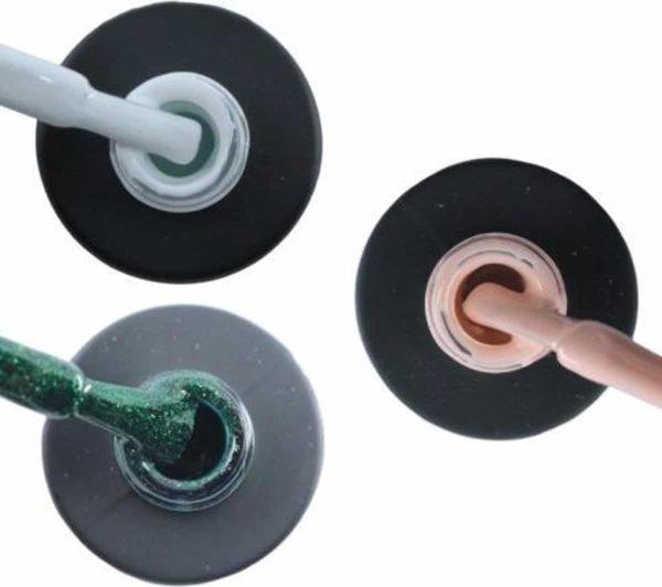 Influence Gellac #BLOSSOMSERIE - UV / LED Gellak - Gel nagellak - Gel lak - Wit / Groen / Roze / Nude - Startersset - 3 x 10 ml