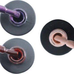Influence Gellac #DAPHNESERIE - UV / LED Gellak - Gel nagellak - Gel lak - Paars / Glitter / Lila / Rood / Bordeaux / Donkerrood / Roze / Nude - Startersset - 3 x 10 ml