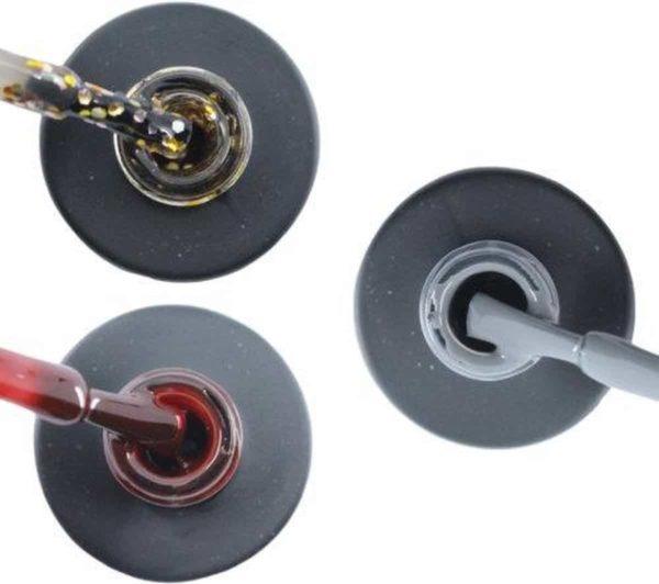 Influence Gellac #DAYDREAMSERIE - UV / LED Gellak - Gel nagellak - Gel lak - Goud / Zilver / Glitter / Rood / Bordeaux / Donkerrood / Grijs - 3 x 10 ml