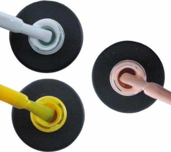 Influence Gellac #LILLYSERIE - UV / LED Gellak - Gel nagellak - Gel lak - Wit / Geel / Roze / Nude - Startersset - 3 x 10 ml
