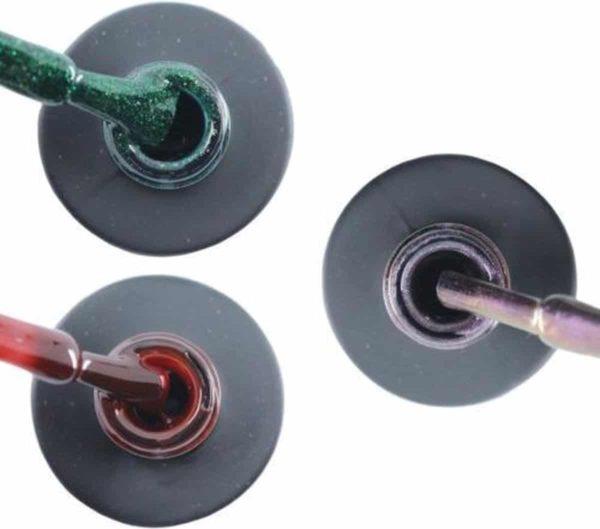 Influence Gellac #MARIESERIE - UV / LED Gellak - Gel nagellak - Gel lak - Groen / Rood / Bordeaux / Donkerrood / Paars / Glitter / Blauw - Startersset - 3 x 10 ml