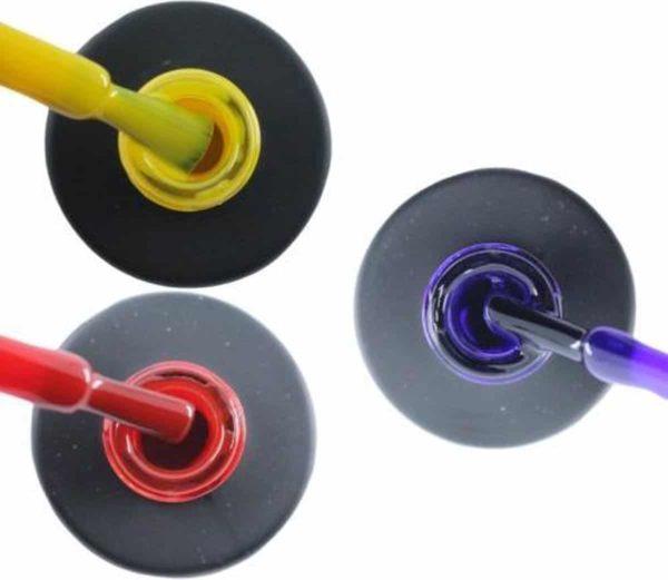 Influence Gellac #SPAINSERIE - UV / LED Gellak - Gel nagellak - Gel lak - Geel / Rood / Paars - Startersset - 3 x 10 ml