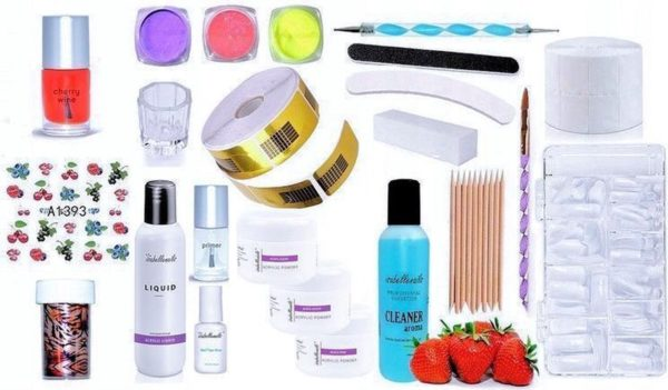 Isabelle Nails Acryl Manicure Set #ZA3-2721