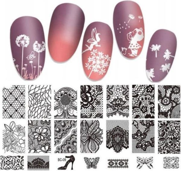 Isabelle Nails Nagelstempel Set #9