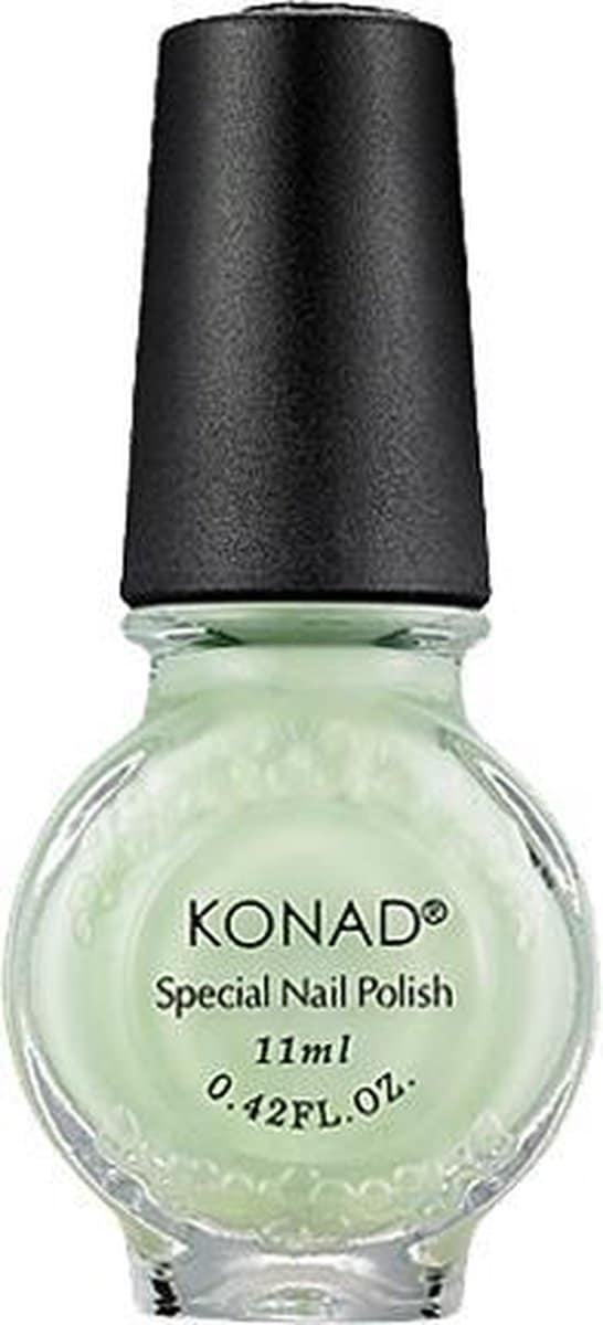 KONAD lakstempel PASTEL GROEN / PASTEL GREEN 08, 11 ml. De professionele lakstempel t.b.v. de stempelplaten voor de nagels!