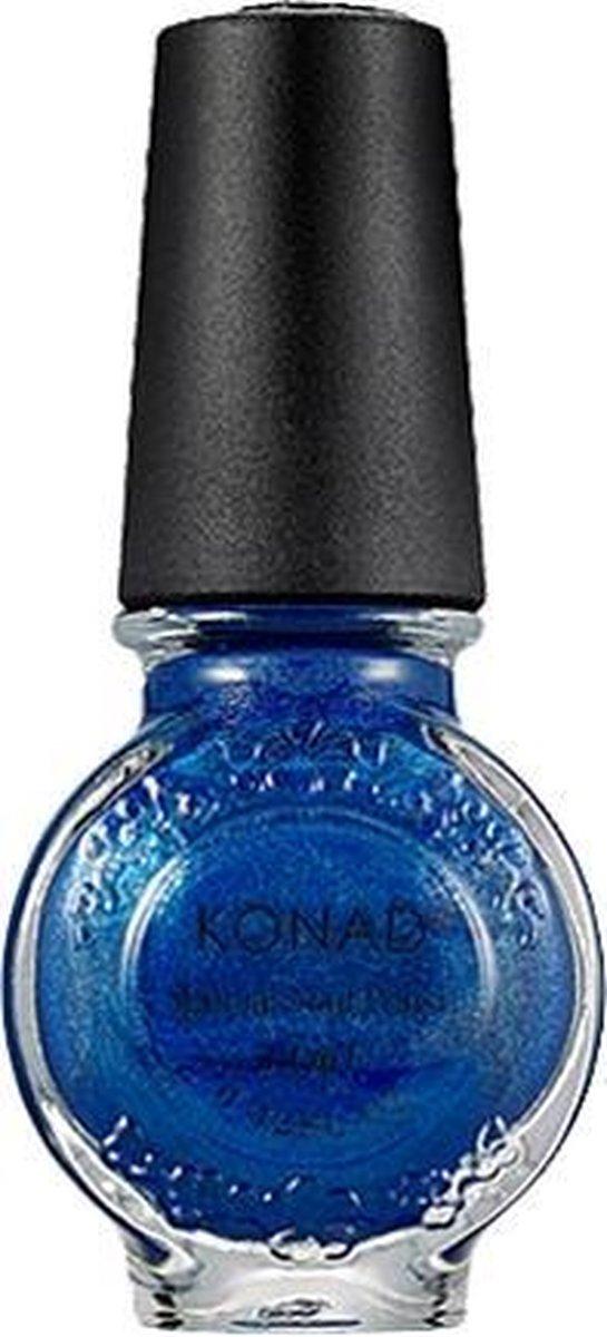 KONAD nagellak voor stempel BLUE PEARL 27, 11 ml