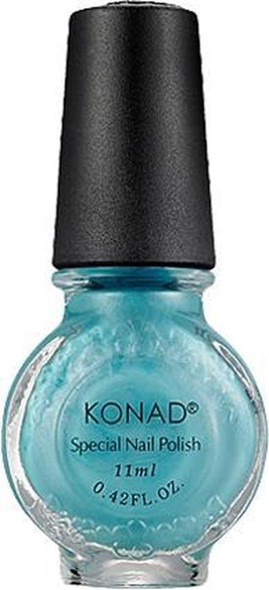 KONAD nagellak voor stempel LICHT BLAUW / HEPBURN BLUE 56, 11 ml. Speciale nagellak voor stempel voor stamping nail art! Nagella