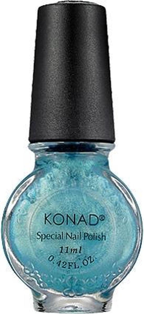 KONAD stamping lack BLAUW / SECRET BLUE 57, 11 ml voor stamping nail art. Stamping lack is product van hoge kwaliteit, sneldroge
