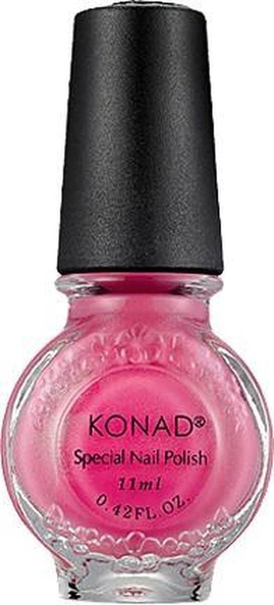 KONAD stempellak PINK PEARL 14, 11 ml. Gepigmenteerd stempellak met perfecte dekking voor stempelen van de nagels.