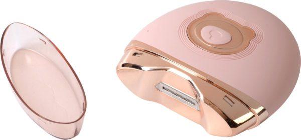 Knikker® Elektrische Nagelvijl - Electrische Nagel Vijl - Nagelfrees met Ingebouwd Afvalbakje - Roze