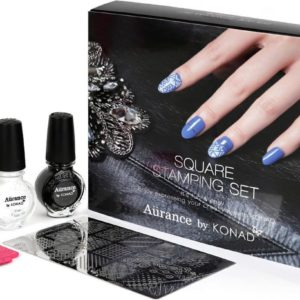 Konad Square stamping set plus gratis topcoat