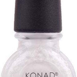 Konad stamping lak set black pearl- white en topcoat