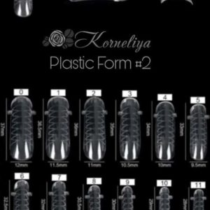 Korneliya Dual Form - Gel Nagellak - Polygel / Acrylgel Form Box 2