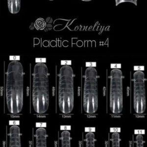 Korneliya Dual Form - Gel Nagellak - Polygel / Acrylgel Form Box 4
