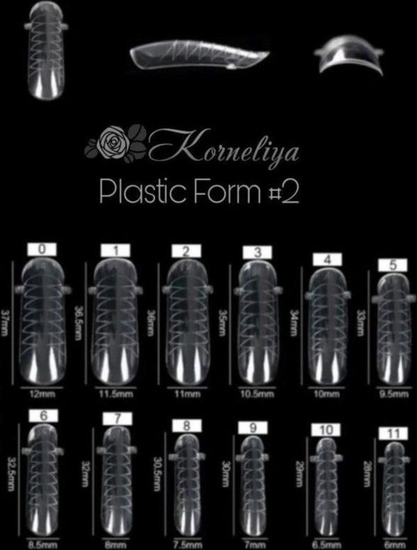 Korneliya Dual Form - Polygel / Acrylgel Form Box 2