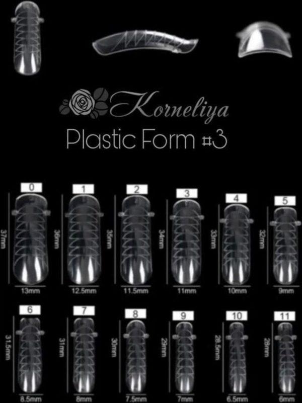 Korneliya Dual Form - Polygel / Acrylgel Form Box 3