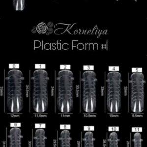 Korneliya Dual form - Gel Nagellak - Polygel / Acrylgel Form nr 1