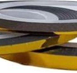 Korneliya Striping tape Goud 1 mm