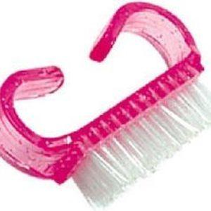 Kunststoffen nagelborstel, stofvrije nagels voor beste hechting van acrylnagels, gelnagels, gelnagellak.