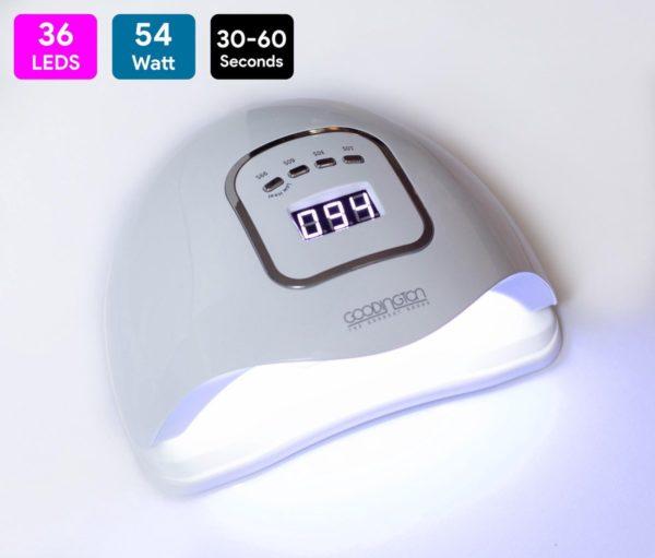LED Nageldroger voor Gelnagels - voor elke Nagel Gellak - 36 LEDs 54/80/150W - UV licht