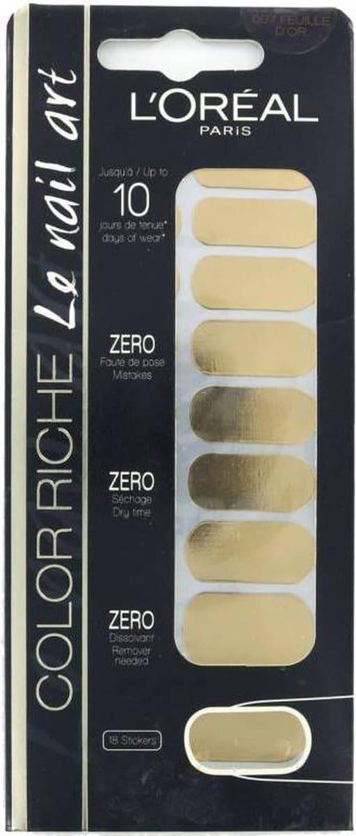 L'Oréal Color Riche Le Nail Art - 007 Feuille D'Or