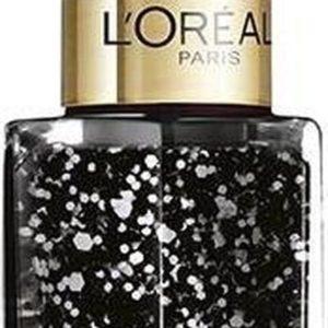 L'Oréal Paris Color Riche Le Vernis - 916 Confettis - Zwart - Nagellak Topcoat