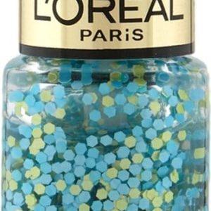 L'Oréal Paris Color Riche Le Vernis - 928 Oulala Blue - Blauw - Nagellak Topcoat