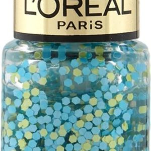 L'Oréal Paris Color Riche Le Vernis - 928 Oulala Blue - Blauw - Nagellak Topcoat