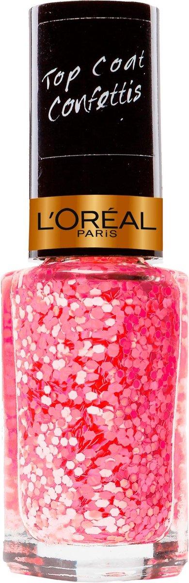 L'Oréal Paris Color Riche Le Vernis - 929 Graffiti D'amour - Rood - Nagellak Topcoat