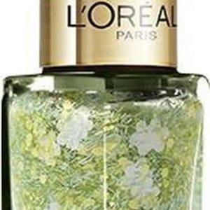 L'Oréal Paris Color Riche Le Vernis - 935 Woodstock Calling - Groen - Nagellak Topcoat