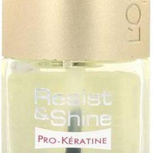 L'Oréal Resist & Shine Basecoat & Topcoat