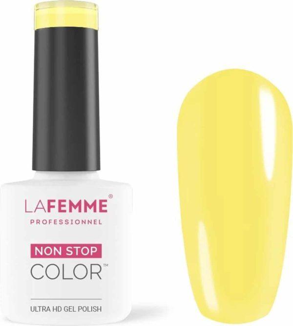 La Femme Gel Polish Ultra HD Liberty Yellow H274 │Gel Nagellak │Spring Collection 2021 Sweet Memories │ Ultra HD Gel Polish │7 Free
