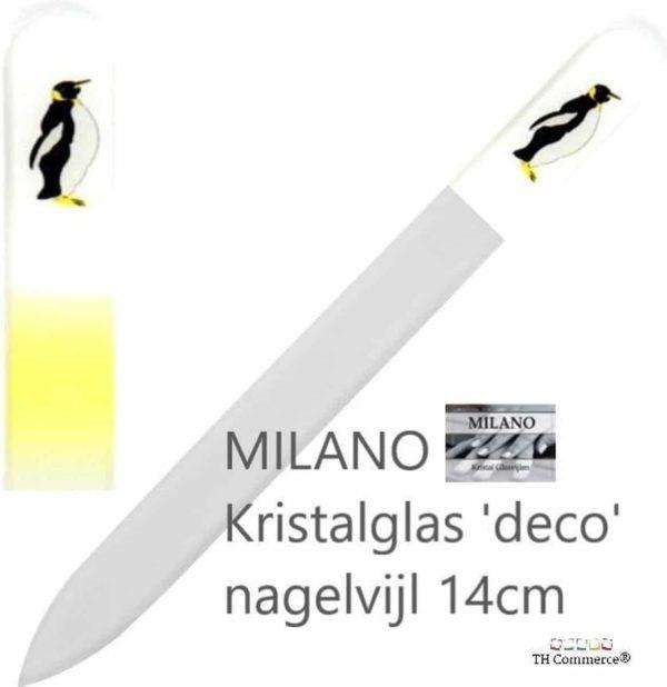 MILANO Nagelvijl - Glasvijl - Pinquin - Levenslang mee - 5204