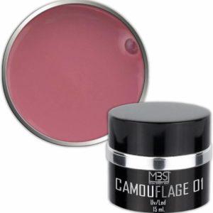 Mega Beauty Shop® Builder camouflage 15 ml (nr. 01) Uv gel - Kunstnagels