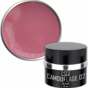 Mega Beauty Shop® Builder camouflage 15 ml (nr. 02) Uv gel - Kunstnagels