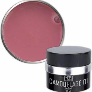 Mega Beauty Shop® Builder camouflage 30 ml (nr. 01) Uv gel - Kunstnagels