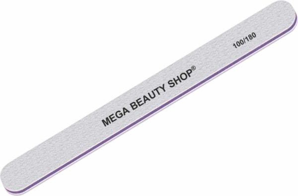 Mega Beauty Shop® Pro rechte vijl 100/180