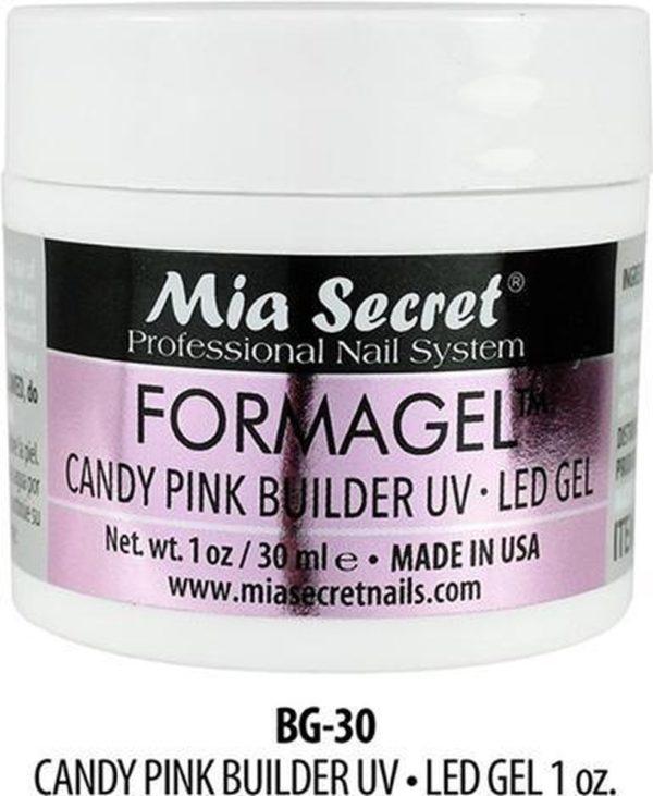 Mia Secret FORMAGEL Roos Opbouwgel Candy Pink Builder Gel 30ml