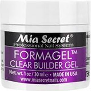 Mia Secret FORMAGEL Transparant Opbouwgel Clear Builder Gel 30ml