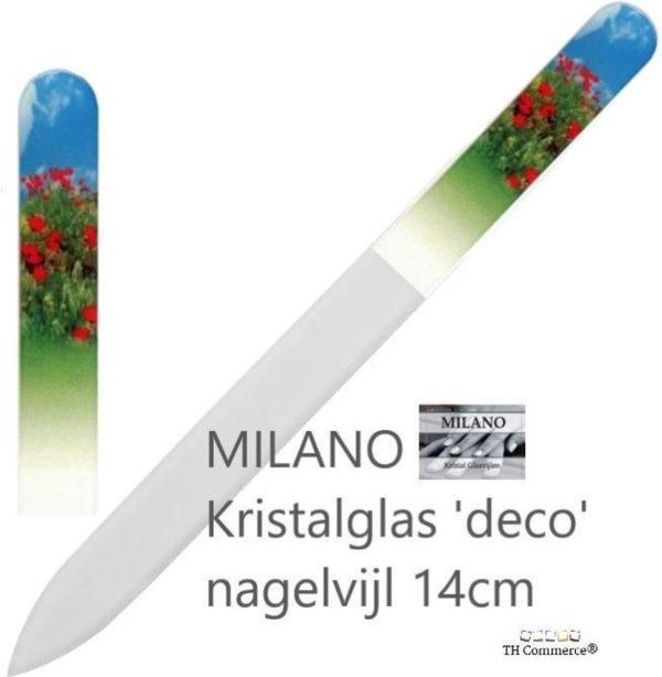 Milano Nagelvijl - Glasvijl - Klap Roos - Levenslang mee - nr 1311