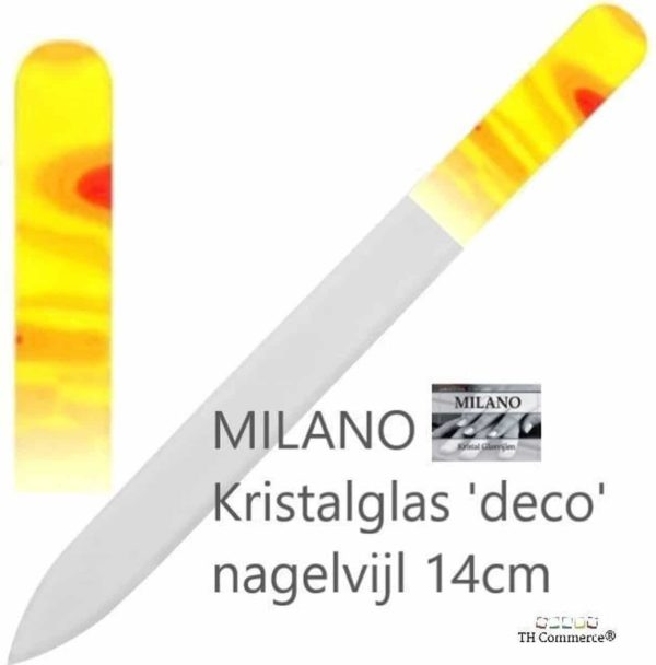 Milano Nagelvijl - Glasvijl - Vlam - Levenslang mee - nr 1304