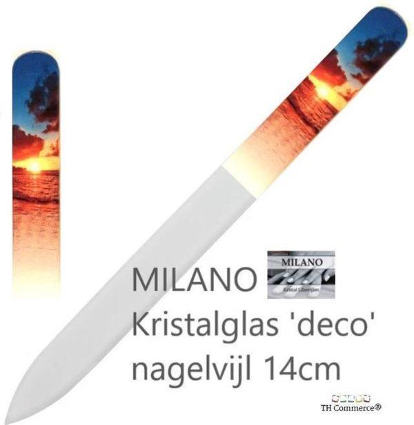 Milano Nagelvijl - Glasvijl - Zon - Levenslang mee - nr 1328