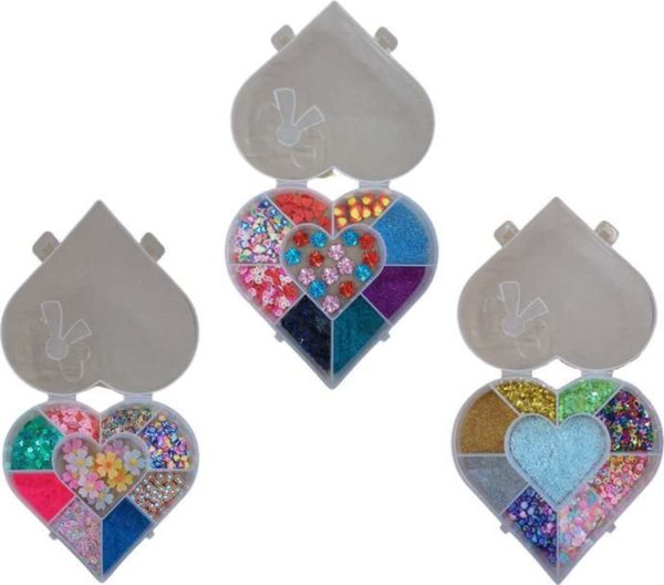 Minifiguren voor Epoxy/Hars/Resin   3 Sets incl. 9 Mini Vormpjes   Mini Letters   Nail Art   Glitter