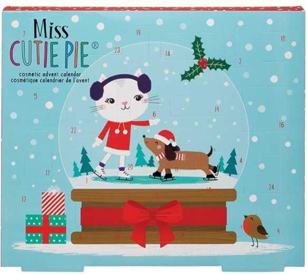 Miss Cutie Pie Advent kalender - 24 delig -