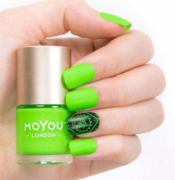MoYou London Stempel Nagellak - Stamping Nail Polish 9ml. - Crazy Citrus