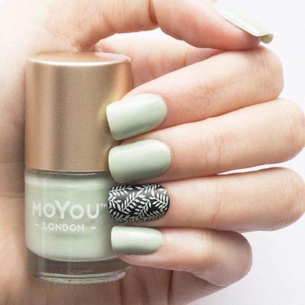 MoYou London Stempel Nagellak - Stamping Nail Polish 9ml. - Olive Tree