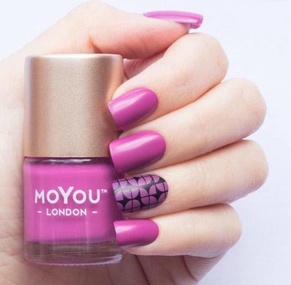 MoYou London Stempel Nagellak - Stamping Nail Polish 9ml. - Party Pink