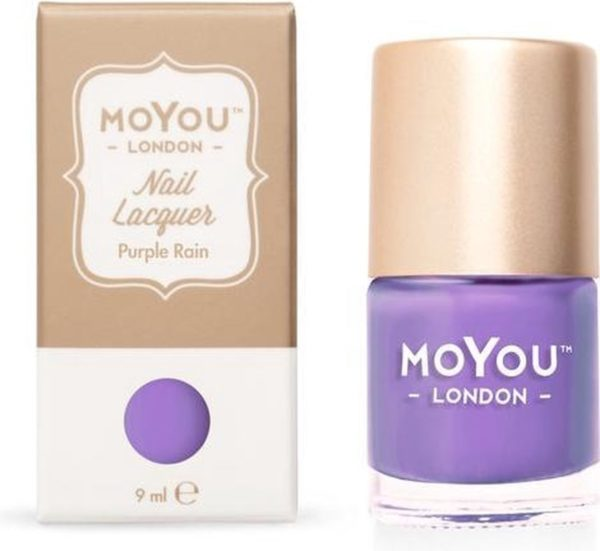 MoYou London Stempel Nagellak - Stamping Nail Polish 9ml. - Purple Rain