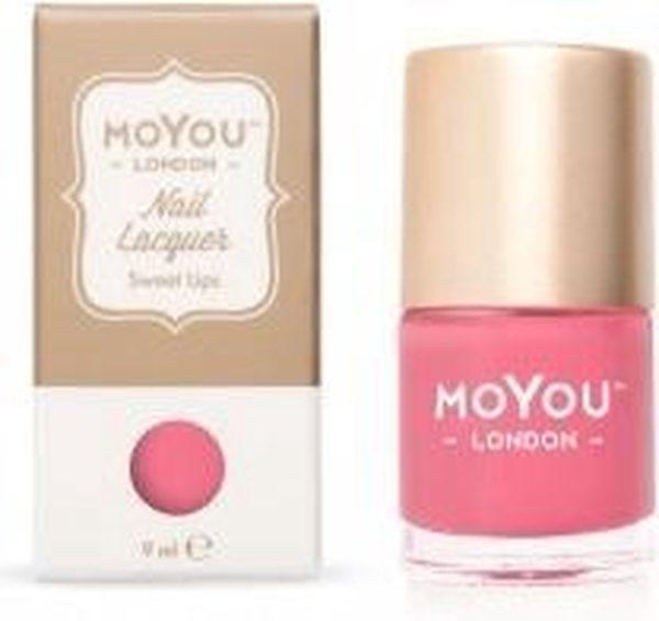 MoYou London Stempel Nagellak - Stamping Nail Polish 9ml. - Sweet Lips