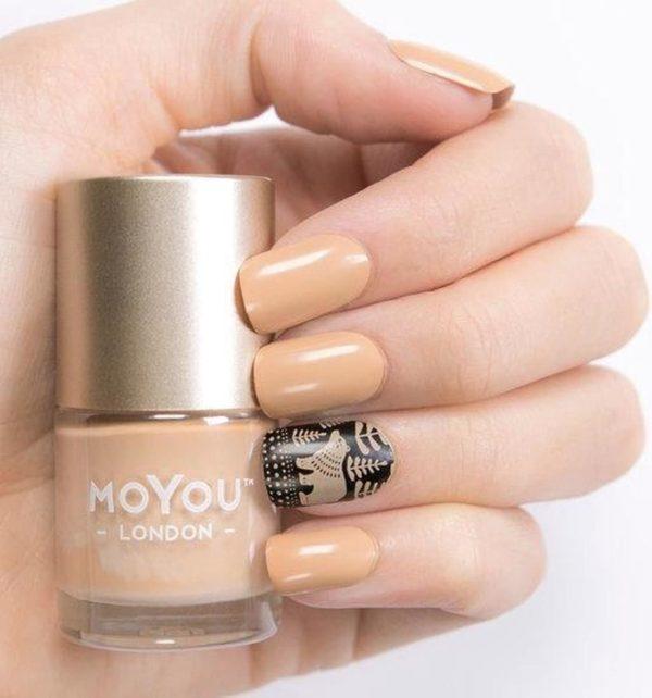 MoYou London Stempel Nagellak - Stamping Nail Polish 9ml. - Teddy Bear